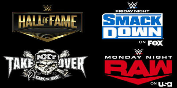 WRESTLEMANIA® Week 2020 Events at Amalie Arena in Tampa