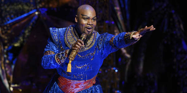 Disney's Aladdin Comes to Dr. Phillips Center With Orlando's Michael James Scott