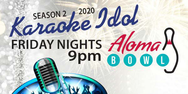 Aloma Bowl in Winter Park has announced it is bringing back its popular singing competition, Karaoke Idol
