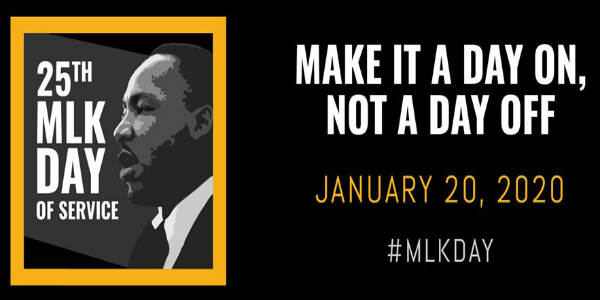Dr. Martin Luther King, Jr. Day 2020