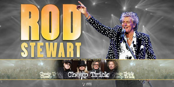 Rod Stewart Summer Tour with Cheap Trick