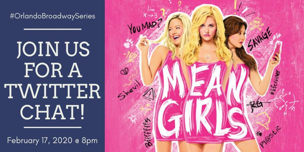 "Twitter Chat about ""Mean Girls"""