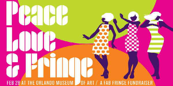 Orlando Fringe Hosts Peace, Love, & Fringe! Fundraiser at Orlando Museum of Art