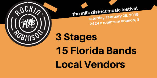 The Milk District Main Street will present the third annual Rockin' Robinson