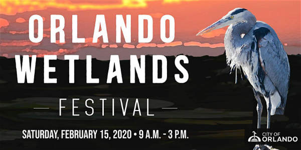 The Orlando Wetlands Festival returns February 15, 2020, to highlight the Orlando Wetlands Park