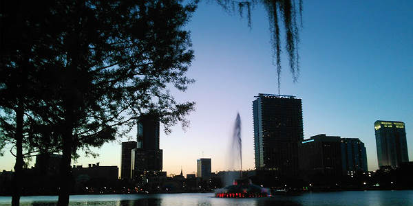Lake Eola at Night
