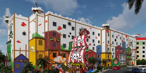 Pirate Island Hotel at LEGOLAND Florida