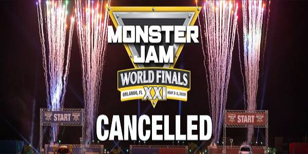 Monster Jam World Finals scheduled on May 2-3, 2020 at Camping World Stadium