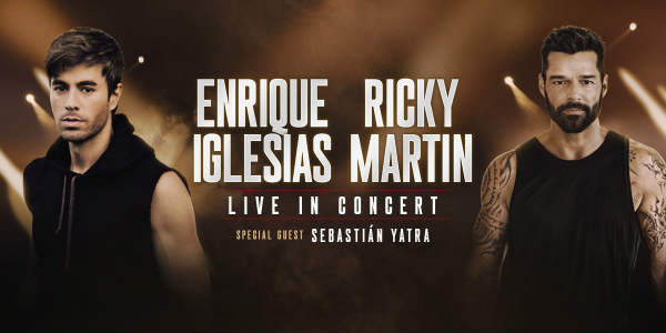Enrique Iglesias And Ricky Martin Co-Headlining Tour