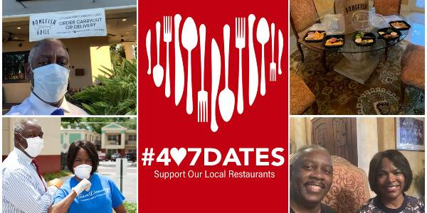 Orange County and Visit Orlando have partnered together again on a new promotion to help local restaurants, called 407 Dates.
