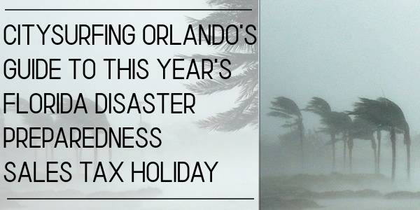 Florida Hurricane Disaster Preparedness Sales Tax Holiday