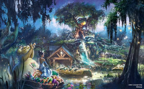 Walt Disney World to Give Magic Kingdom's Splash Mountain New The Princess and the Frog Theme
