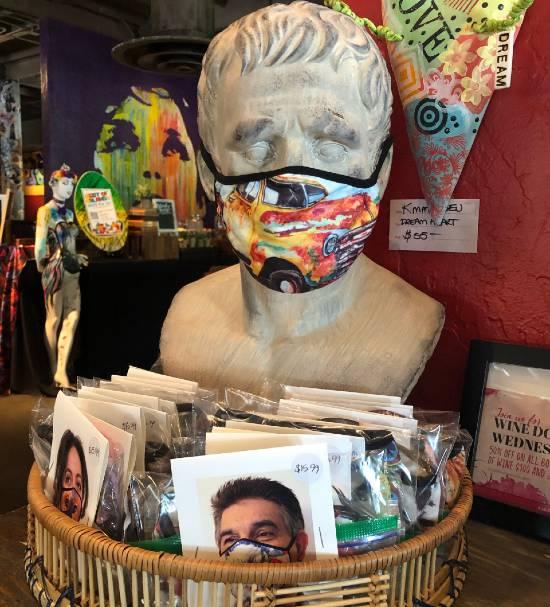 Cafe Tu Tu Tango masks