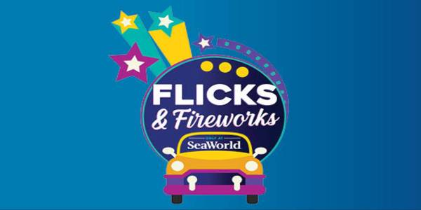 SeaWorld Orlando Hosts Flicks & Fireworks