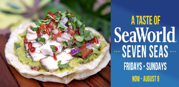 SeaWorld Orlando - A Taste of Seven Seas food festival