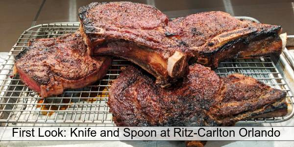 Steak at Knife and Spoon at Ritz-Carlton Grande Lakes - photo by Anna-Marie Walsh for CitySurfing Orlando
