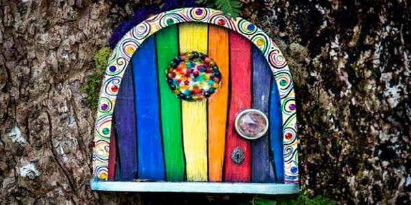 Enchanted Fairy Doors at Harry P. Leu Gardens