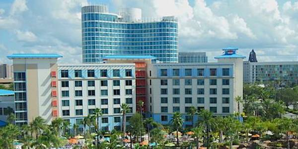 Loews Sapphire Falls Resort and Universal's Aventura Hotel at Universal Orlando