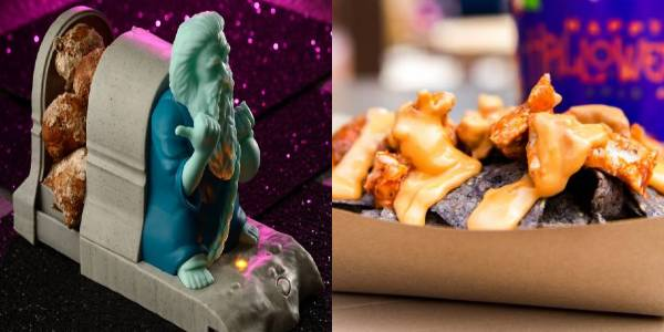 Magic Kingdom - Cinnamon Donuts and Hades Nachos