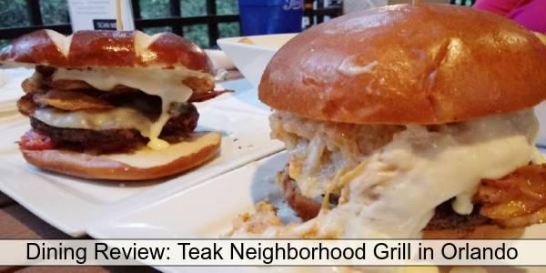 Teak Neighborhood Grill - burgers