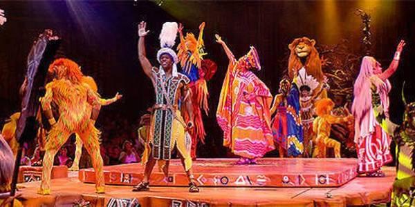 Festival of the Lion King cast at Walt Disney World