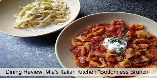 Mia's Italian Kitchen - pasta