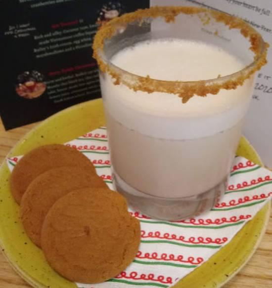 Holiday Drinks at Hawkers Asian Street Fare - Santa's Nightcap