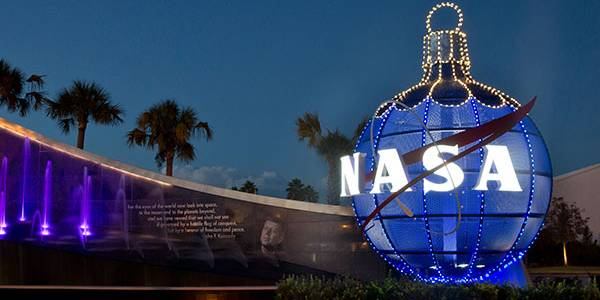 Holidays in Space at Kennedy Space Center Visitor Complex