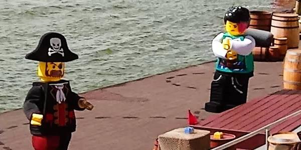 Brickbeard's Watersports Stunt Show Debuts at LEGOLAND Florida