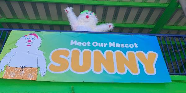 Daytona Lagoon Introduces New Mascot Sunny the Yeti
