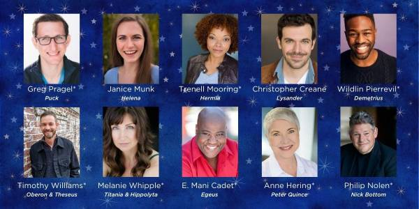 Orlando Shakes presents A Midsummer Night's Dream cast
