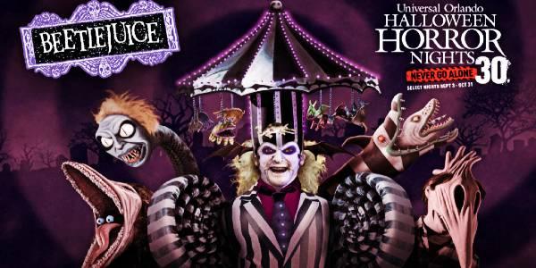 Halloween Horror Nights 30 - Beetlejuice