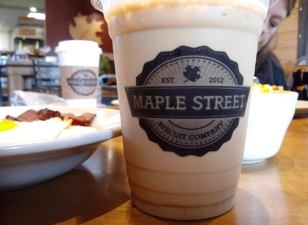 Maple Street Biscuit Company - Maple Vanilla Bean Latte