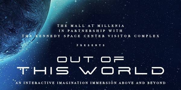 Mall at Millenia is teaming with The Kennedy Space Center Visitor Complex for an exhibit called Out of This World Immersive Experience