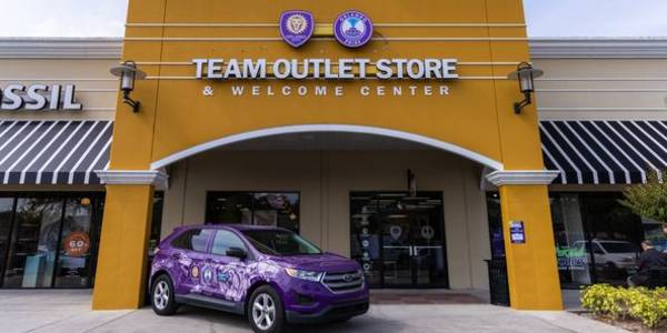 Orlando City SC & Orlando Pride Team outlet store