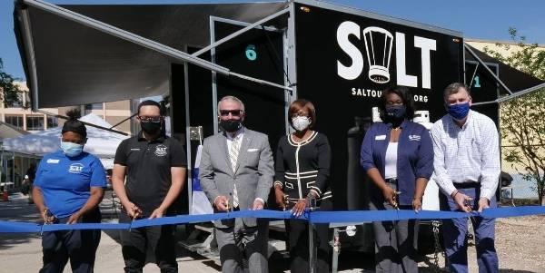City of Orlando Unveils SALT Laundry Trailer