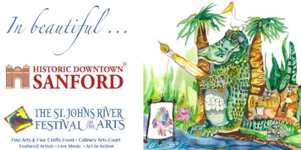 St. Johns River Festival of the Arts at Historic Downtown Sanford