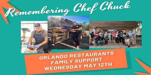 Local Restaurants Band Together for BBQ Around Orlando May 12 In Memory of Chef Chuck Cobb