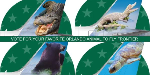 Vote for Frontier Airlines Next Orlando Wing Mascot