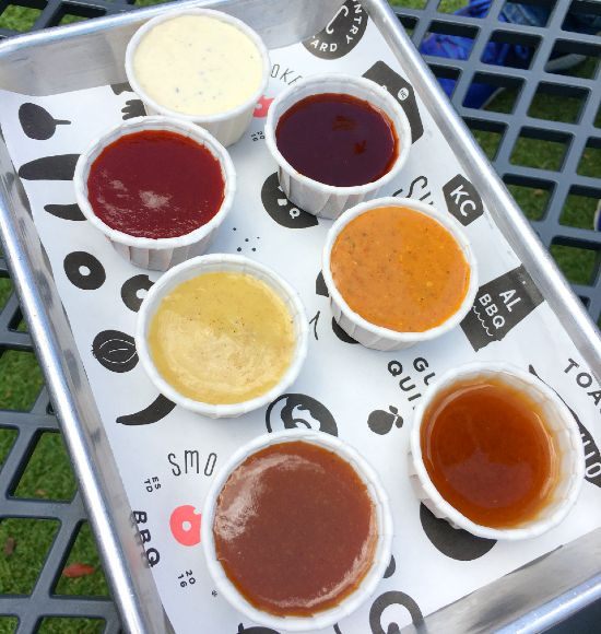 Smoke and Donuts' housemade sauces