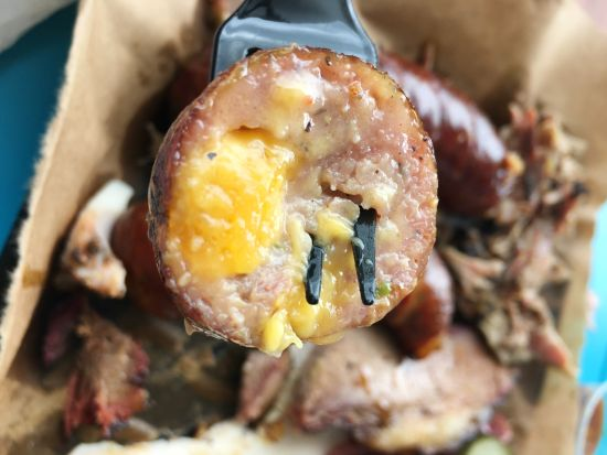 Smokemade Meats + Eats Central Texas-Style BBQ - Jalapeño Cheddar Sausage