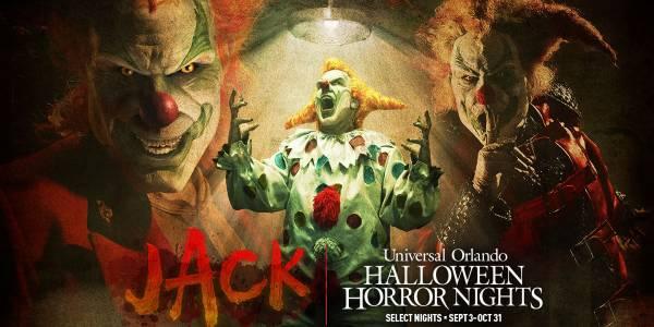 Jack the Clown Returns to Halloween Horror Nights 2021 at Universal Orlando