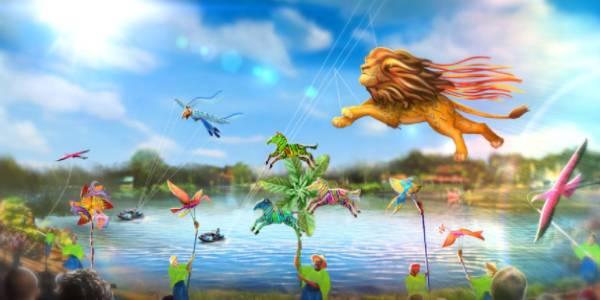 Disney's Animal Kingdom Disney KiteTails art rendering