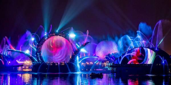 EPCOT nighttime spectacular Harmonious