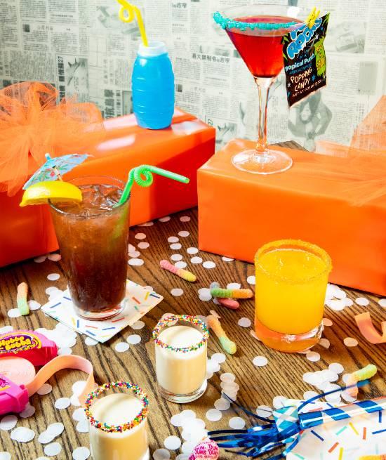 Hawkers Asian Street Food - 10th anniversary drinks