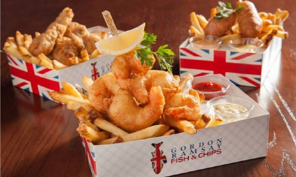 Gordon Ramsey's Fish & Chips