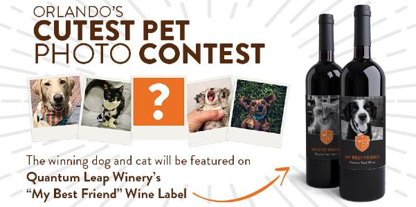 Pet Alliance Of Greater Orlando - My Best Friend Wine Label Contest 2021
