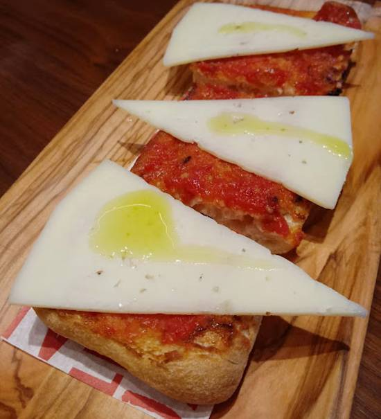Jaleo at Disney Springs - Traditional Pan con Tomate y Queso Manchego