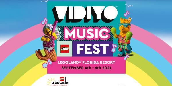 LEGO® VIDIYO™ Music Fest at LEGOLAND Florida
