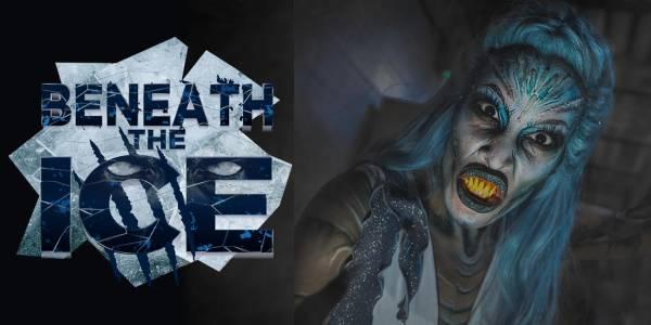 SeaWorld Orlando - Howl'O'Scream - BENEATH THE ICE Haunted House